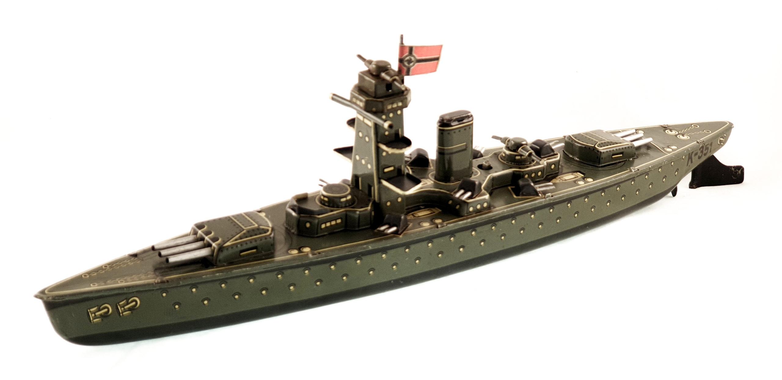 Nave da guerra K 351 - 1938
