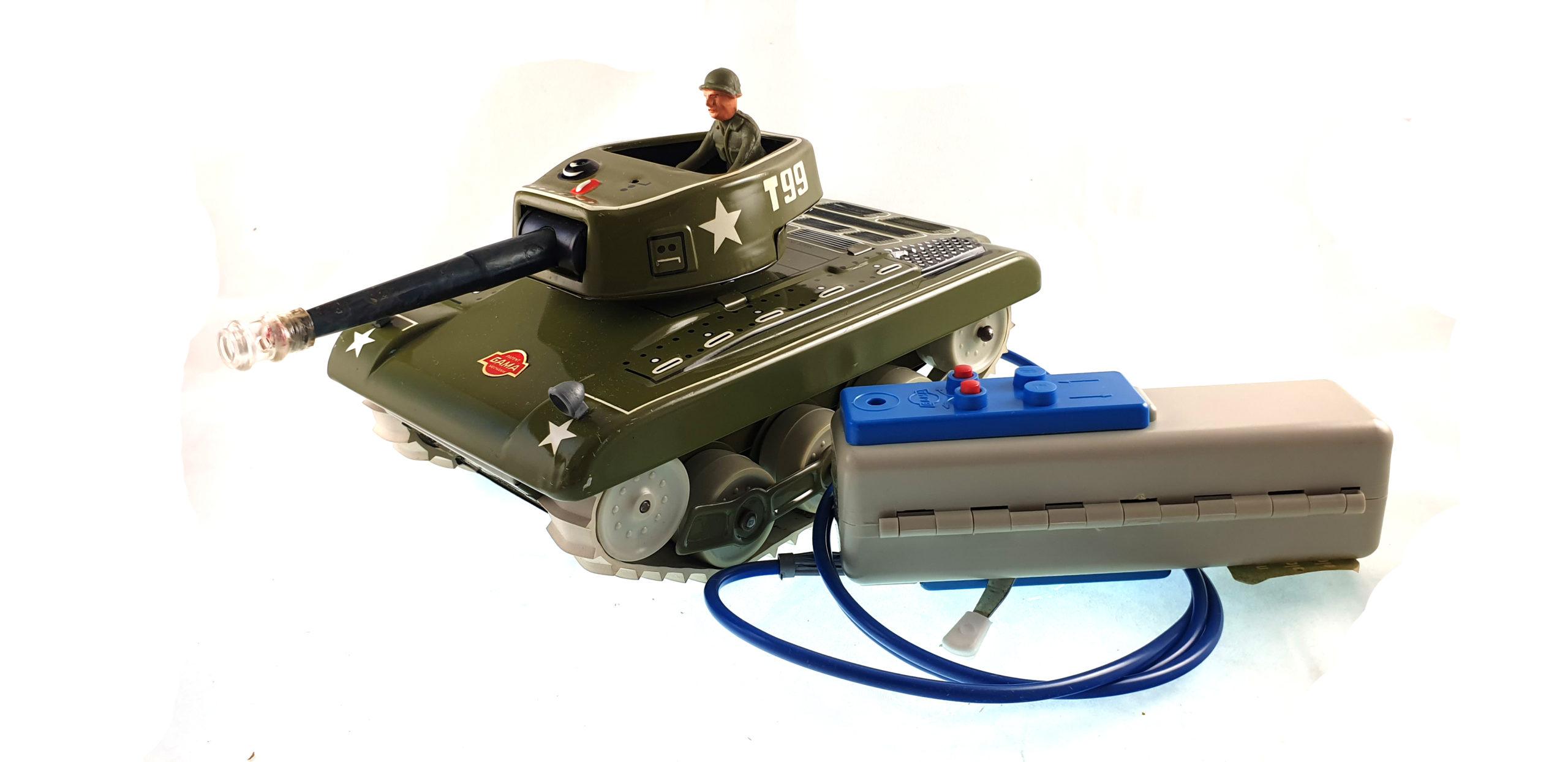 Carro armato 9938 - a batterie